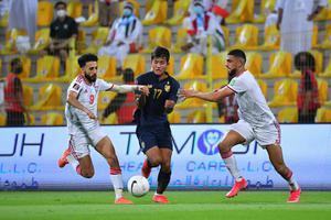 ไร้ปาฏิหาริย์ !! ไทย แพ้ ยูเออี  1-3 จบเส้นทางฟุตบอลโลก 2022