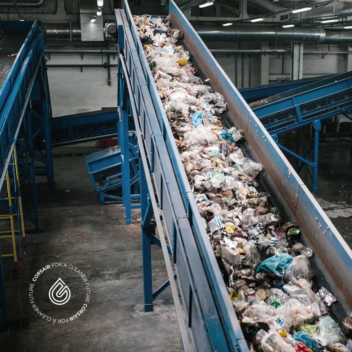 คอร์แซร์ รุดหน้าแก้ปัญหาขยะพลาสติกในเมืองไทยเปลี่ยนขยะเป็นน้ำมันชีวภาพ