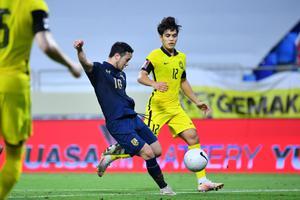 แข้งทีมชาติไทย แพ้ มาเลเซีย 0-1 ทื้งทวนคัดฟุตบอลโลก