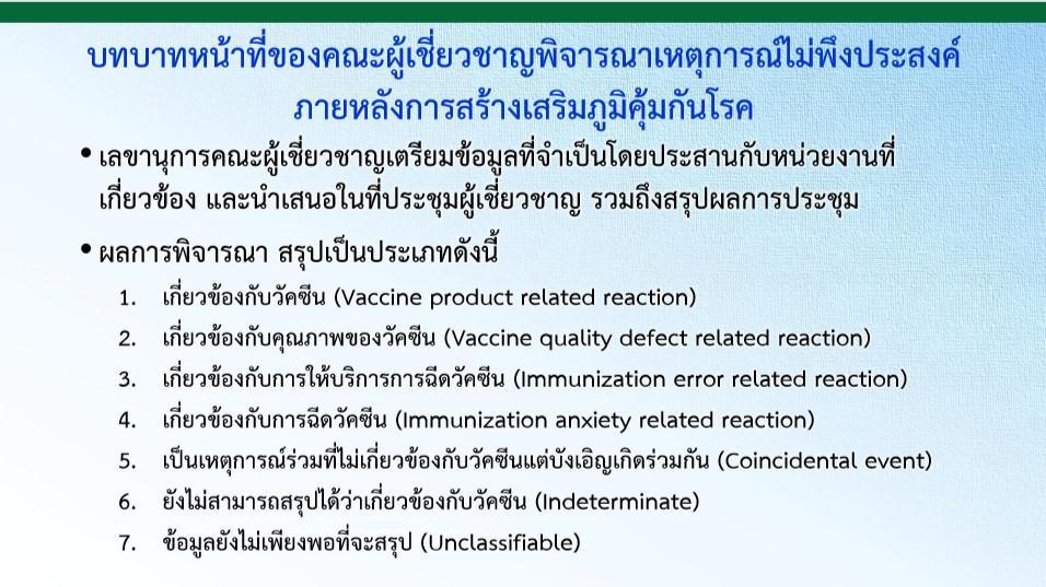 เสียชีวิตหลังฉีดวัคซีน ภายใน 1 สัปดาห์ พุ่ง 40 ราย สะสม 68 ชีวิต เทียบอาการแพ้ ซิโนแวค -แอสตร้าเซเนก้า