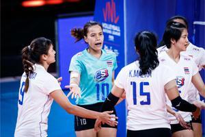 ตบสาวไทย นำก่อนแพ้ อิตาลี 1-3 ทิ้งทวนศึกเนชั่นส์ ลีก