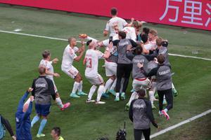อีริคเซ่น โพสต์ไอจีร่วมยินดีหลังเดนมาร์กพลิกทะลุเข้ารอบ 16 ทีมยูโร