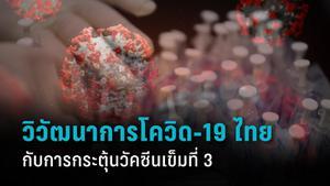 วิวัฒนาการโควิด-19 ประเทศไทย กับความจำเป็นของวัคซีนเข็มที่ 3