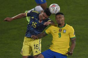 ผลบอลสดวันนี้ ! ฟุตบอลโคปา อเมริกา 2021 บราซิล พบ โคลอมเบีย 24 มิ.ย.64