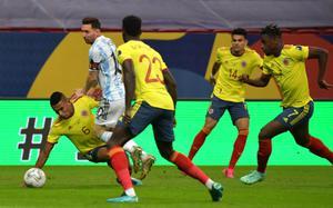 ผลบอลสดวันนี้ ! ฟุตบอลโคปา อเมริกา โคลอมเบีย พบ อาร์เจนตินา 7 ก.ค.64