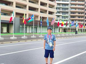 หัวหน้านักกีฬาไทย เช็กความพร้อมห้องพักก่อนทัพใหญ่เดินทางไป อลป.คืนนี้