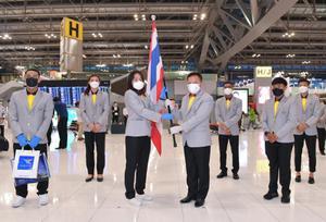 นักกีฬาไทยทัพใหญ่ เดินทางลุยศึกโอลิมปิก  2020