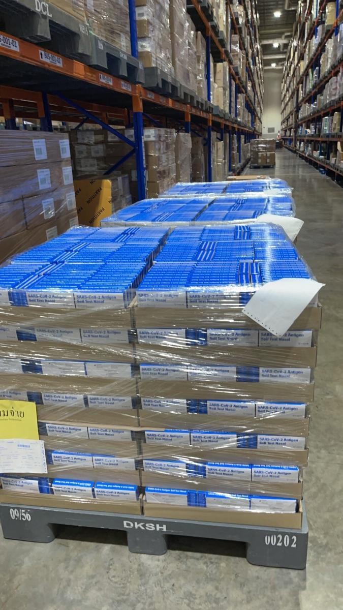 ถึงไทยแล้ว! ชุดตรวจโควิด-19 ด้วยตัวเอง แบบโฮมยูสของโรช พร้อมกระจายร้านขายยาทั่วประเทศ ด่วนที่สุด
