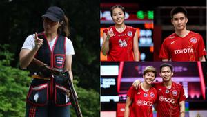 เช็กโปรแกรมเชียร์นักกีฬาไทย ลุยโอลิมปิก วันที่ 25 ก.ค.