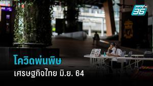 โควิดพ่นพิษ! เศรษฐกิจไทย มิ.ย.64  ความเชื่อมั่นผู้บริโภควูบ เอกชนชะลอลงทุน แต่ส่งออกสินค้าเกษตรโต