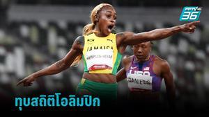 เอเลน ธอมป์สัน เฮร่าห์ คว้าทองวิ่ง 100 ม.หญิงพร้อมทำลายสถิติโอลิมปิก