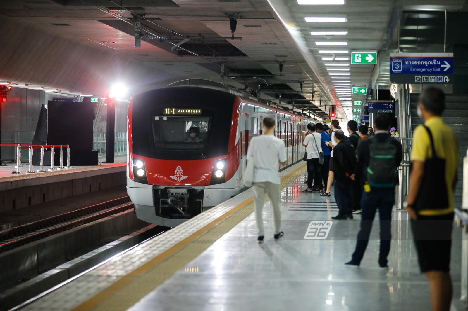 ก่อนทดลองไปนั่งฟรี 3 เดือน ทำความรู้จักรถไฟชานเมืองสายสีแดง เชื่อม บางซื่อ-รังสิต และ บางซื่อ-ตลิ่งชัน