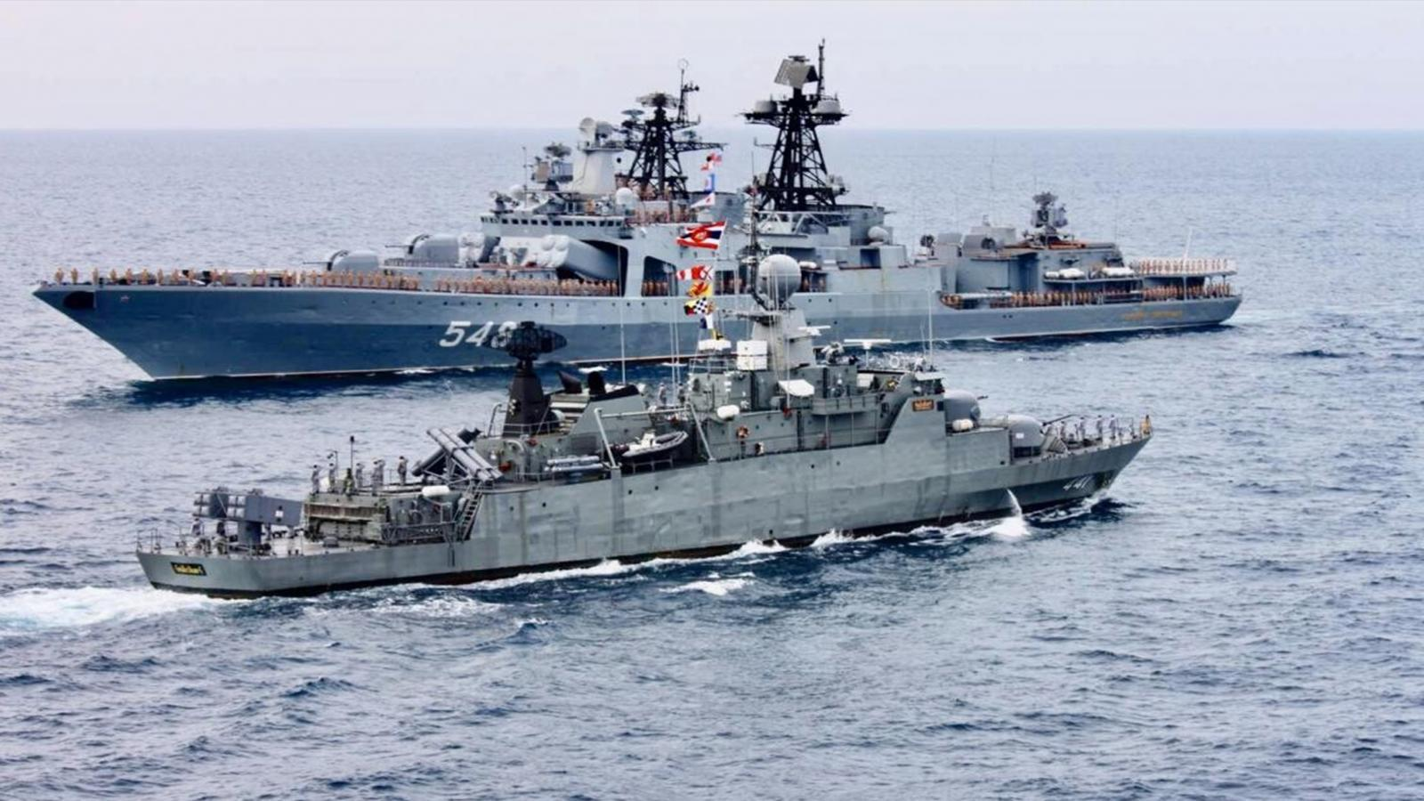 ทร.แจงเรือรบอังกฤษร่วมฝึกทัพเรือไทย เพิ่มทักษะ ปัดคานอำนาจจีน ย้ำ ไม่ได้แวะจอดเมืองท่า