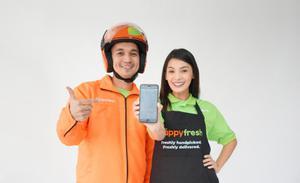 HappyFresh ครองตลาด E-Grocery แย้มธุรกิจพุ่งทะยานขึ้นกว่า 20 เท่า