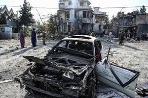 คาร์บอมกลางเมืองหลวงอัฟกานิสถาน ดับ 4 เจ็บ 20 คาดฝีมือตาลีบัน
