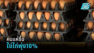 คนแห่ซื้อไข่ไก่พุ่ง10% ตุนช่วงล็อกดาวน์