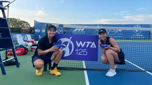 """""""เพียงธาร""""ควงสาวญี่ปุ่น คว้าแชมป์เทนนิส WTA  ที่สหรัฐอเมริกา"""