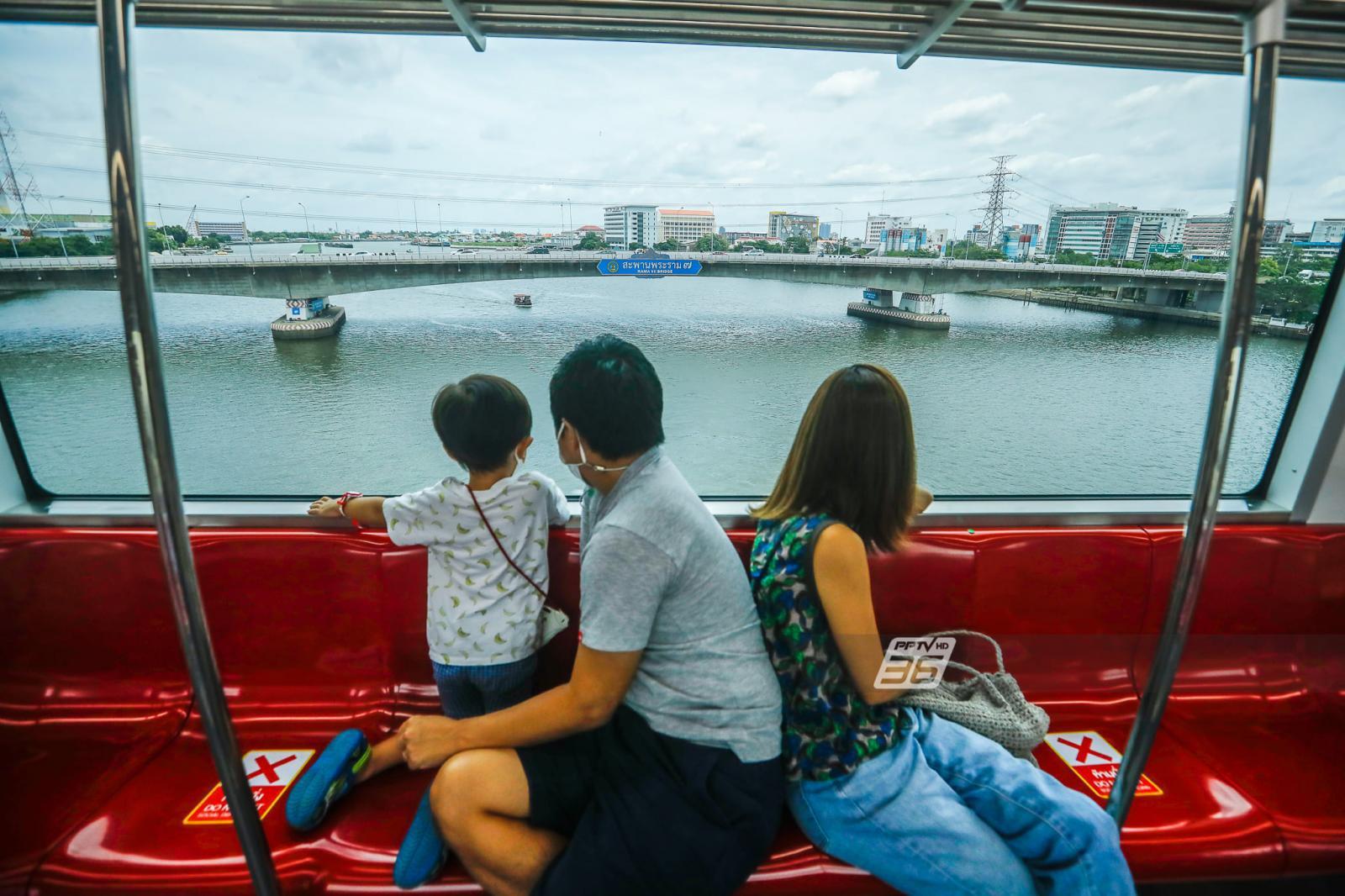 คู่มือเดินทางด้วยรถไฟชานเมืองสายสีแดง-บอกสถานที่ใกล้สถานีตลอดเส้นทาง