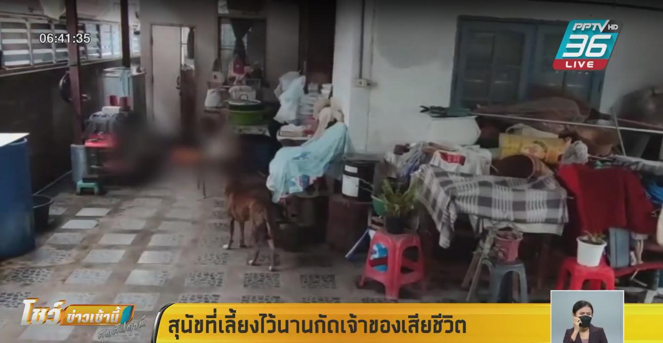 สุนัขที่เลี้ยงไว้นานกัดเจ้าของเสียชีวิต