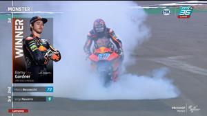 จบการเเข่งขัน Moto2 สนามที่ 12 ผู้ชนะคือ Remy Gardner