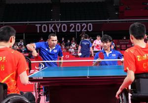 เทเบิลเทนนิสทีมชายไทยแพ้จีน คว้าทองแดง พาราลิมปิก