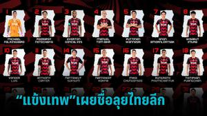 แบงค็อก ยูไนเต็ด เผยชื่อ 31 แข้งสู้ศึกไทยลีก 1 ฤดูกาล 2021-2022