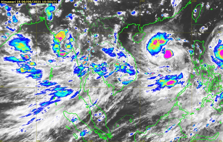 """จับตา พายุโซนร้อน """"โกนเซิน"""" ทวีกำลังแรง อุตุฯเตือน ทั่วไทยฝนตกหนักต่อเนื่อง"""