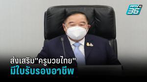 """""""ประวิตร"""" ถก คกก.พัฒนาแรงงานฯ ส่งเสริม""""ครูมวยไทย"""" มีใบรับรองอาชีพได้มาตรฐานสากล"""