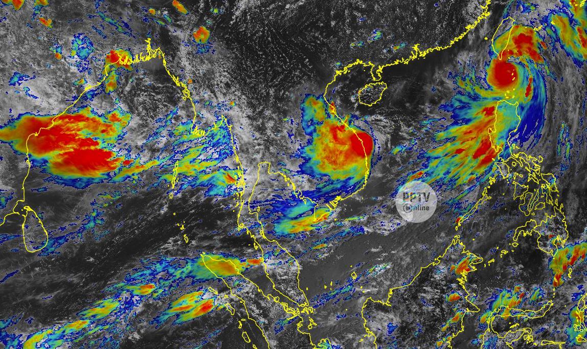 """พรุ่งนี้ พายุโซนร้อน """"โกนเซิน""""  เข้าเวียดนาม อุตุฯ เตือน 37 จว.ฝนตกหนัก"""