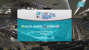 ไฮไลท์ | พีพีทีวี วอลเลย์บอลชาย เจวีเอ ชิงชนะเลิศแห่งเอเชีย | ซาอุดีอาระเบีย พบ เกาหลีใต้ | 12 ก.ย. 64