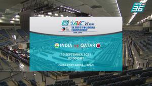 ไฮไลท์ | พีพีทีวี วอลเลย์บอลชาย เจวีเอ ชิงชนะเลิศแห่งเอเชีย | อินเดีย พบ กาตาร์ | 13 ก.ย. 64