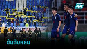 ทีมชาติไทย อันดับฟีฟ่า ร่วง 2 ขั้น เบลเยี่ยม ยั้งรั้งเบอร์ 1