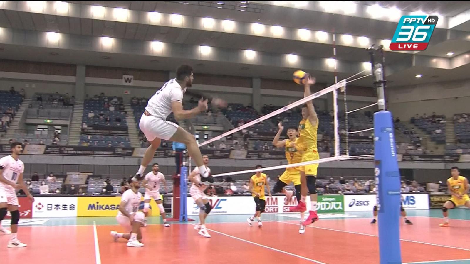พีพีทีวี วอลเลย์บอลชาย เจวีเอ ชิงชนะเลิศแห่งเอเชีย