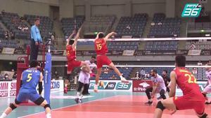 ไฮไลท์ | พีพีทีวี วอลเลย์บอลชาย เจวีเอ ชิงชนะเลิศแห่งเอเชีย | กาตาร์ พบ จีน | 17 ก.ย. 64