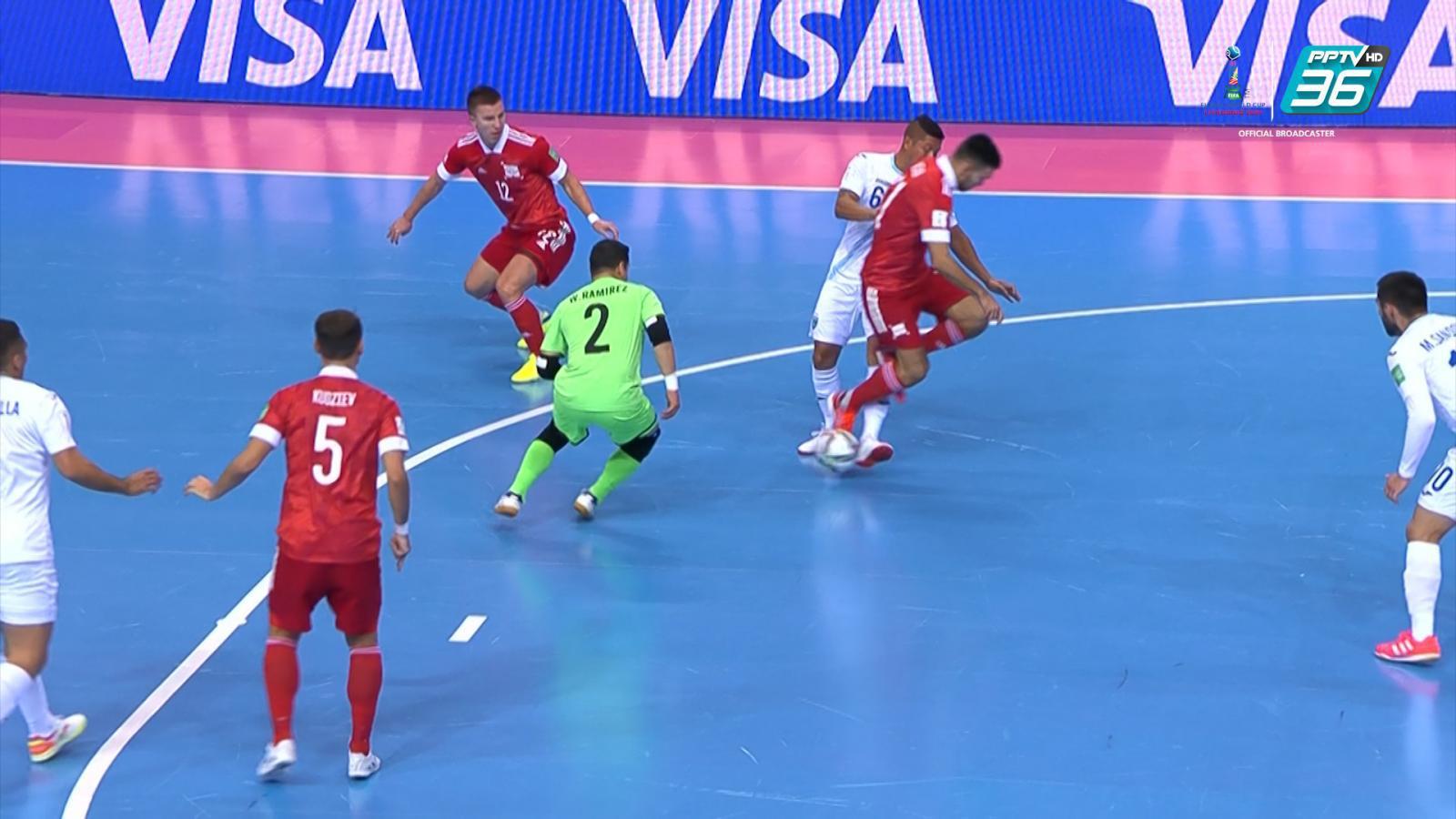 Full Match | ฟีฟ่า ฟุตซอล เวิลด์ คัพ 2021 | กัวเตมาลา พบ รัสเซีย | 18 ก.ย. 64
