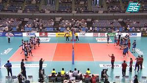 ไฮไลท์ | พีพีทีวี วอลเลย์บอลชาย เจวีเอ ชิงชนะเลิศแห่งเอเชีย | จีน พบ ไชนิส ไทเป | 19 ก.ย. 64