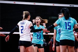 ตบลูกยางสาวไทย ได้โควต้าเล่นวอลเลย์บอลหญิง ชิงแชมป์โลก 2022