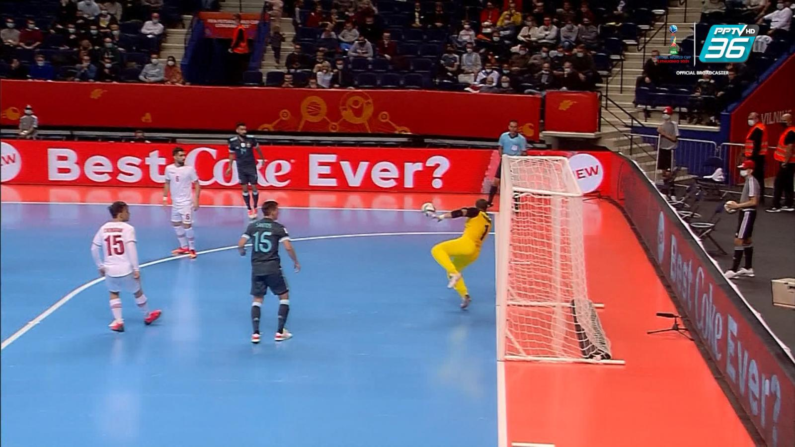 Full Match | ฟีฟ่า ฟุตซอล เวิลด์ คัพ 2021 | อิหร่าน พบ อาร์เจนตินา | 20 ก.ย. 64