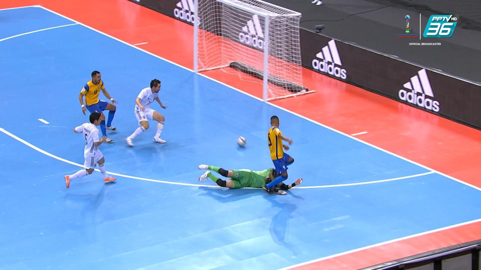 ไฮไลท์ฟุตซอล   ฟีฟ่า ฟุตซอล เวิลด์ คัพ 2021   บราซิล 4-2 ญี่ปุ่น   23 ก.ย. 64