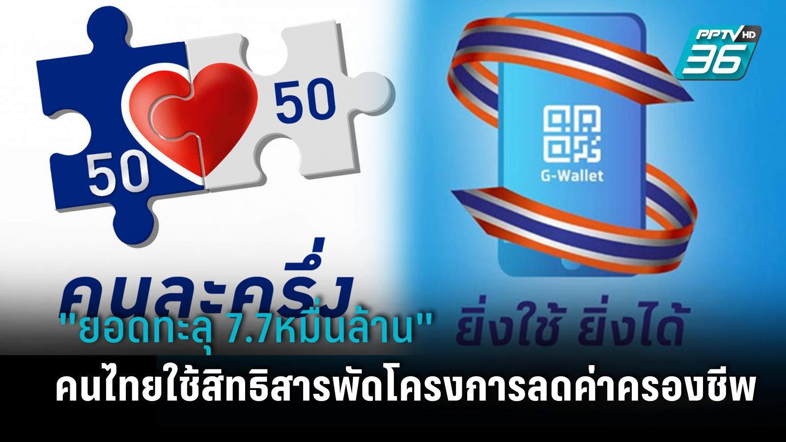 คนไทยใช้สารพัดมาตรการเยียวยา-ลดค่าครองชีพ ยอดทะลุ 7.7หมื่นล้าน