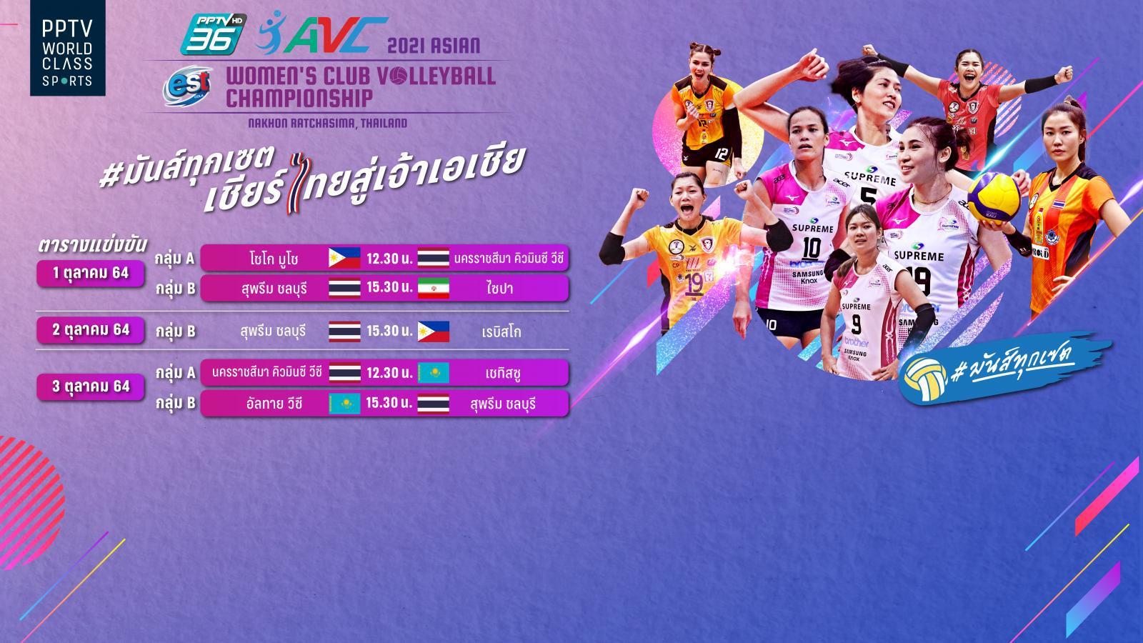 พีพีทีวี วอลเลย์บอลสโมสรหญิง เอสโคล่า ชิงชนะเลิศแห่งเอเชีย