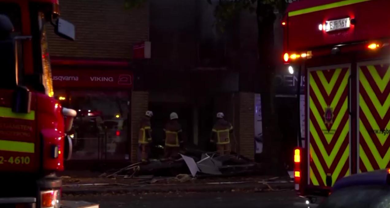 เหตุระเบิด-ไฟไหม้อาคารที่พักอาศัยในสวีเดน เจ็บ 25 คน