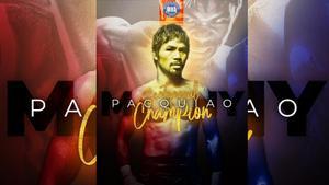 ปาเกียว รับรางวัลแชมป์โลกแห่งศตวรรษ จาก WBA หลังแขวนนวม