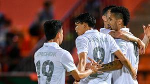 บุรีรัมย์  บุกชนะ ประจวบ 2-0  ทวงคืนจ่าฝูงไทยลีก