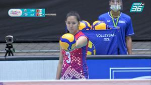 ไฮไลท์ | พีพีทีวี วอลเลย์บอลสโมสรหญิง ชิงแชมป์เอเชีย | ไซปา 0 - 3 อัลทาย วีซี | 2 ต.ค. 64