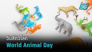 """4 ตุลาคม """"วันสัตว์โลก"""" ช่วยกันรักษาสวัสดิภาพของสัตว์"""
