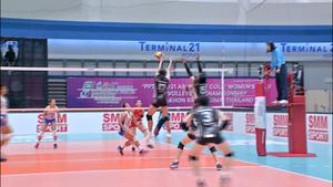 ไฮไลท์   พีพีทีวี วอลเลย์บอลสโมสรหญิง ชิงแชมป์เอเชีย    สุพรีมชลบุรี ชนะ โชโก มูโช   4 ต.ค. 64