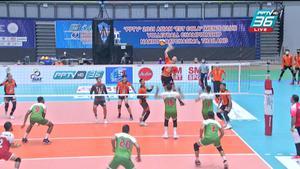 ไฮไลท์   พีพีทีวี วอลเลย์บอลสโมสรชาย เอสโคล่า ชิงชนะเลิศแห่งเอเชีย   เซาท์ กาส คลับ 1 - 3 นครราชสีมา คิวมินซี  วีซี   9 ต.ค. 64
