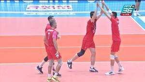 ไฮไลท์   พีพีทีวี วอลเลย์บอลสโมสรชาย เอสโคล่า ชิงชนะเลิศแห่งเอเชีย   ซีร์จาน ฟูลาด 3-1 เอ็มจีเอ็มเค    10 ต.ค. 64