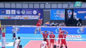 ไฮไลท์ | พีพีทีวี วอลเลย์บอลสโมสรชาย เอสโคล่า ชิงชนะเลิศแห่งเอเชีย | ซีร์จาน ฟูลาด 3-2 ไดมอนด์ ฟู้ด วีซี | 12 ต.ค. 64